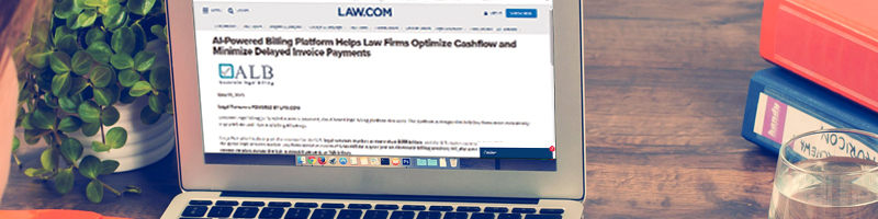 AI-Powered Billing Platform Helps Law Firms Optimize Cashflow and Minimize Delayed Invoice Payments